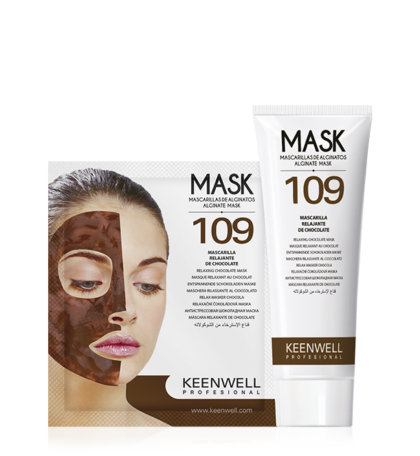 KEENWELL Alginate Mask 109 Relaxing And Distressing Cocoa Mask. 9 Pack. FOR PROFESSIONAL USE.