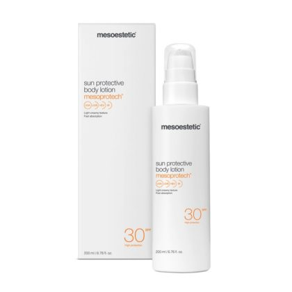 Mesoestetic Mesoprotech Sun Protective Body Lotion 30+. 200 ml.